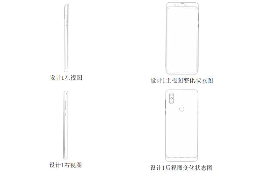Xiaomi üç ön kameralı telefon