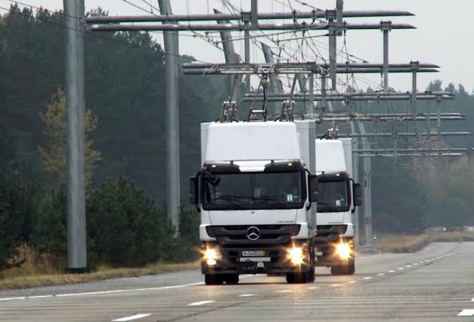 Almanya ilk elektrikli karayolu
