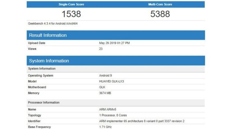 Huawei Nova 5i Geekbench sonuçları ile dikkat çekti! - ShiftDelete.Net