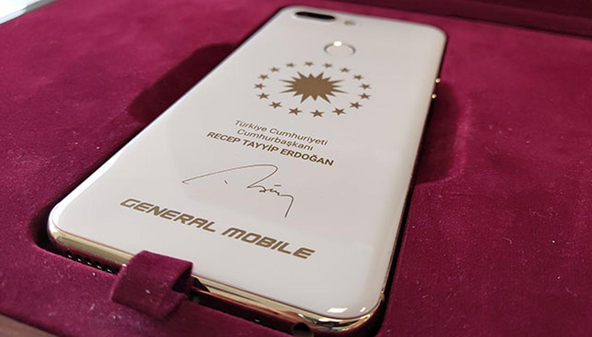 General Mobile Cumhurbaşkanı Erdoğan özel telefon