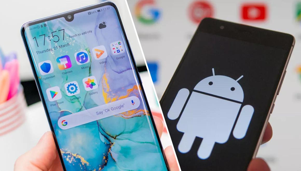 Huawei Android internet sitesi üzerinden kaldırıldı!
