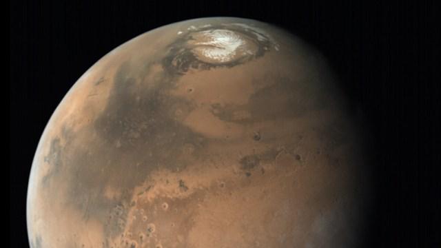 Third reservoir found on Mars