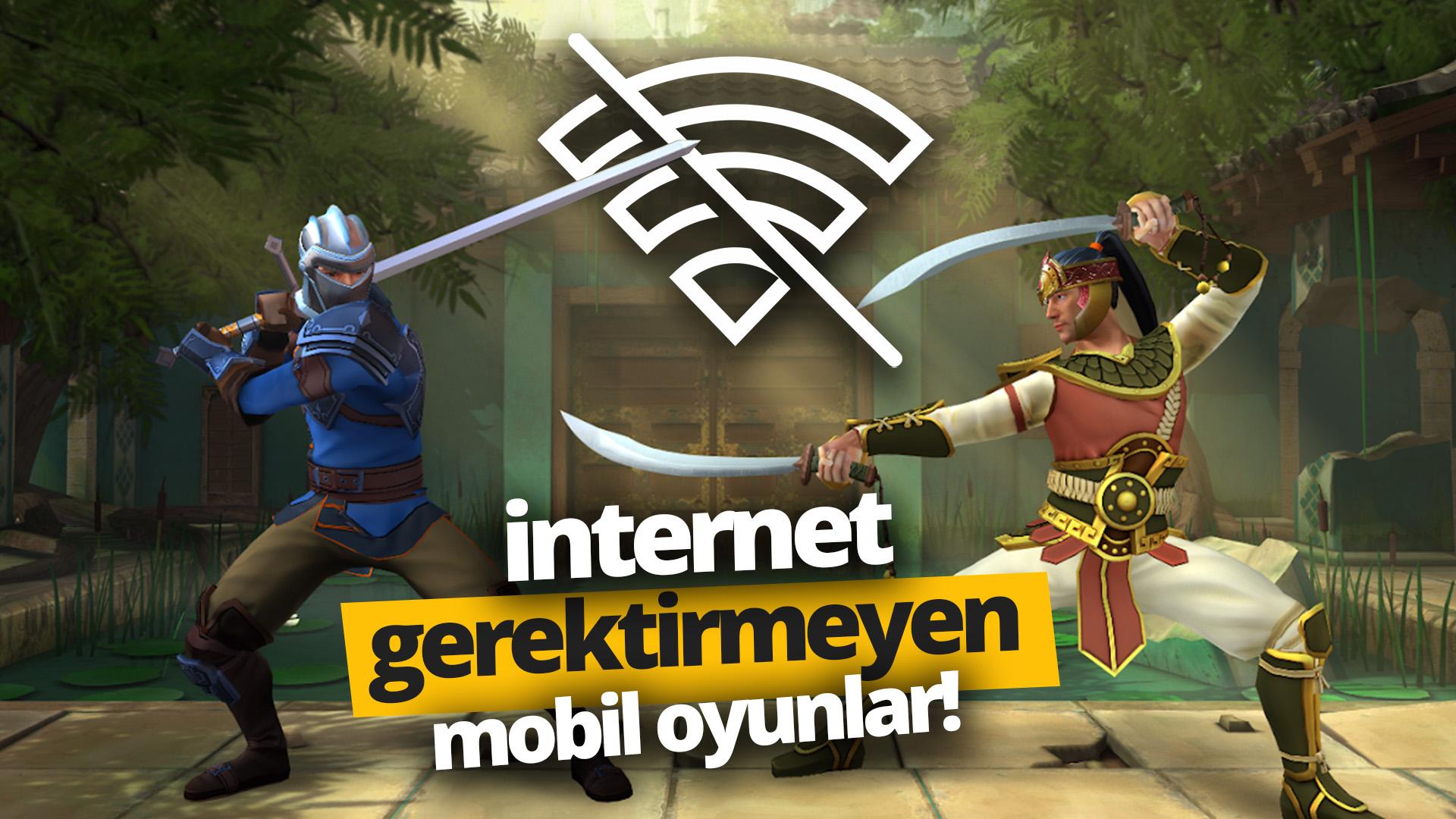internetsiz oyunlar