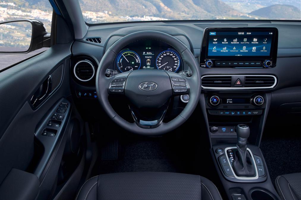 2019 Hyundai Kona hibrit sdn 4
