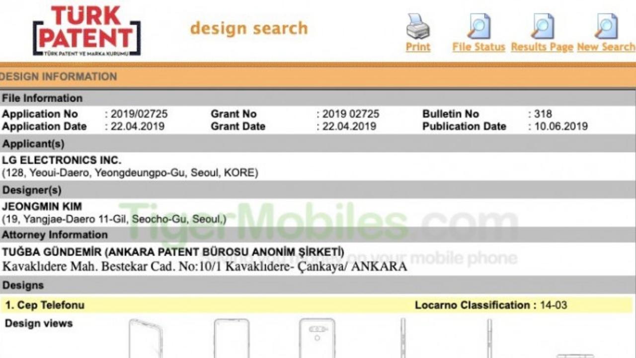 LG delikli ekranlı telefon patenti ortaya çıktı! - ShiftDelete.Net