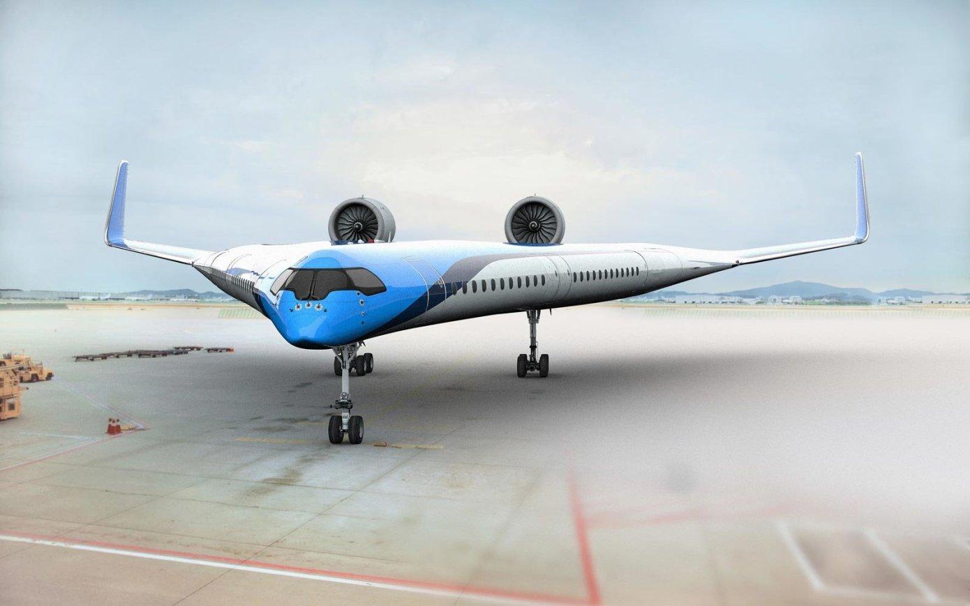 Uçak kanadında yolculuk dönemi başlıyor! klm flyingv 2