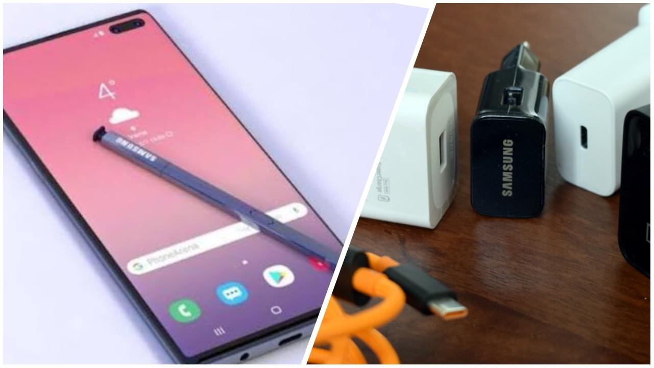 Galaxy Note 10 şarj aleti