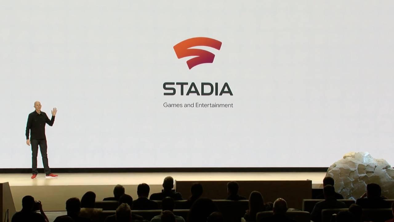 Google Stadia oyun kolu