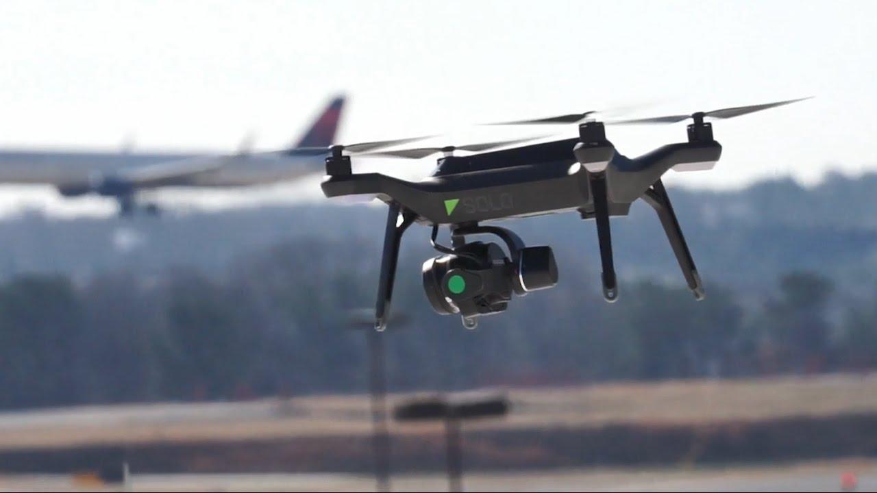 Drone yolcu uçağının üzerinden geçti