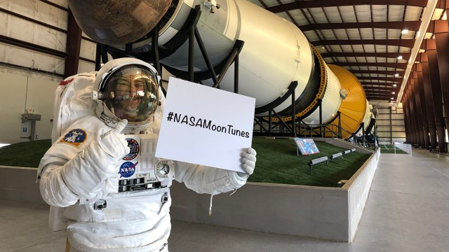 NASA started receiving request songs to send to the Moon