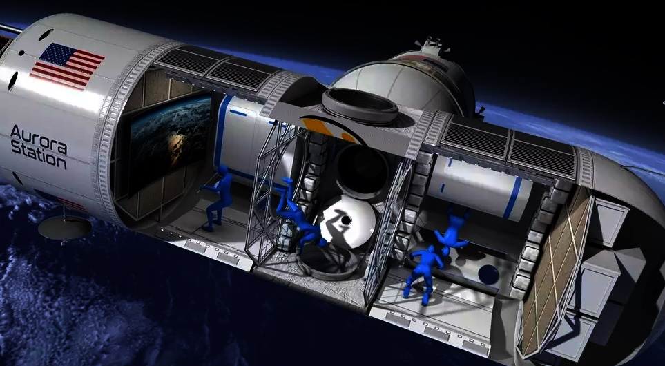 NASA uzay istasyonu