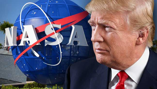 ay'a iniş, Trump, nasa, Mars görevi