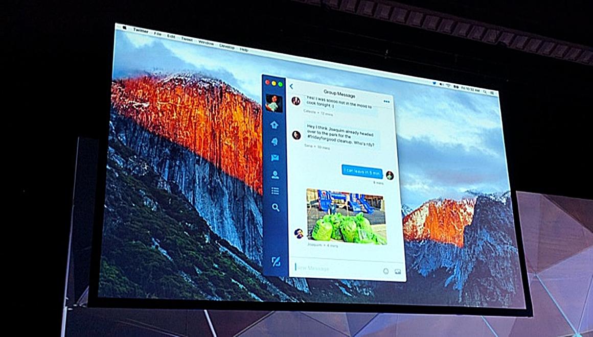 Twitter for Mac uygulaması