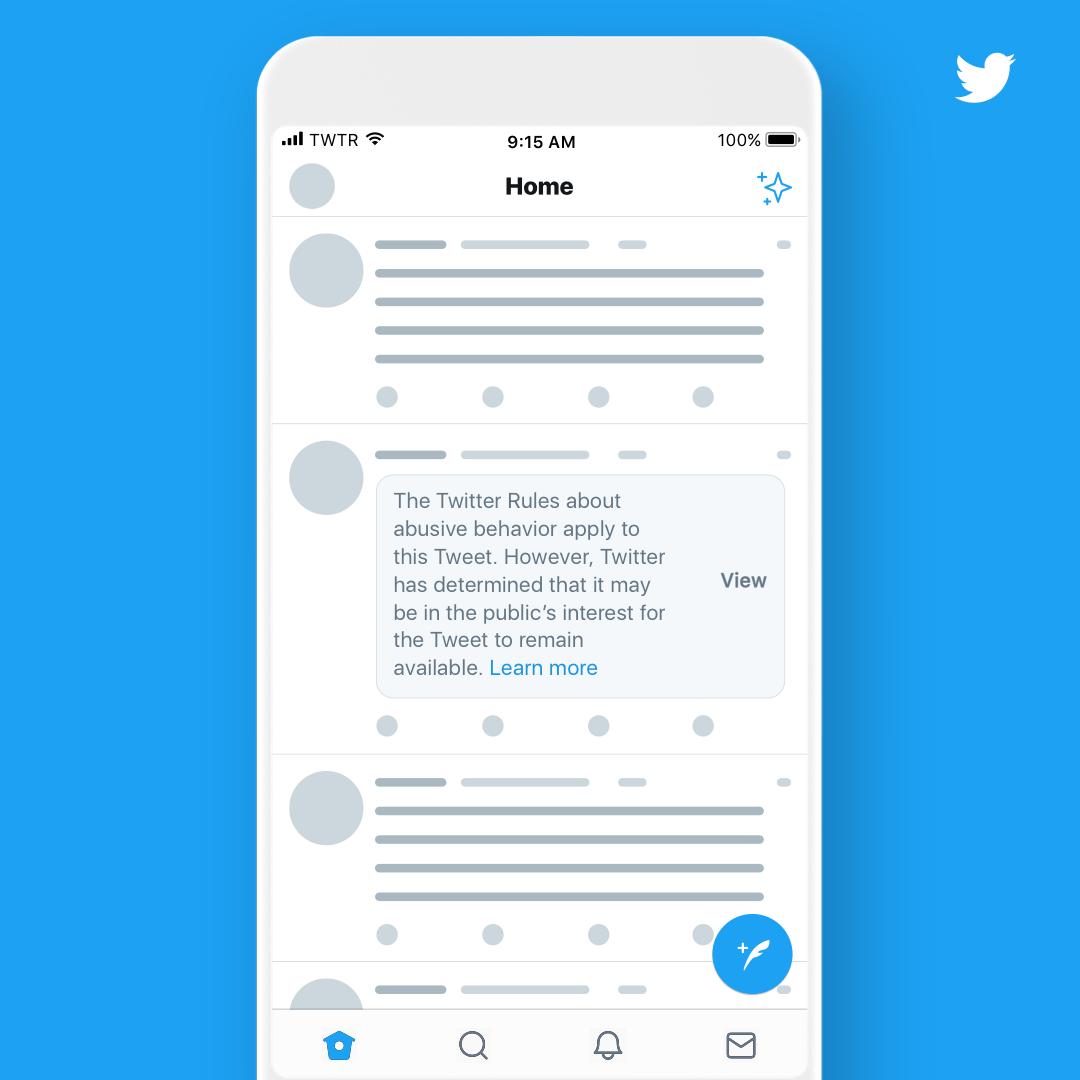 Twitter tweet ilkeleri hakkında duyuru yaptı