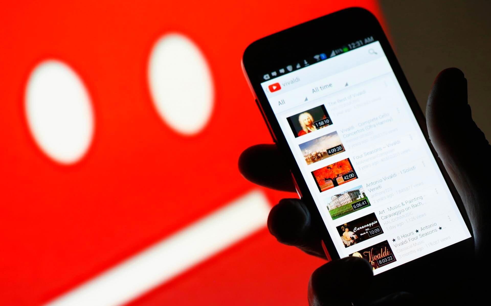 YouTube videoları müzik yüzünden heder olmayacak!