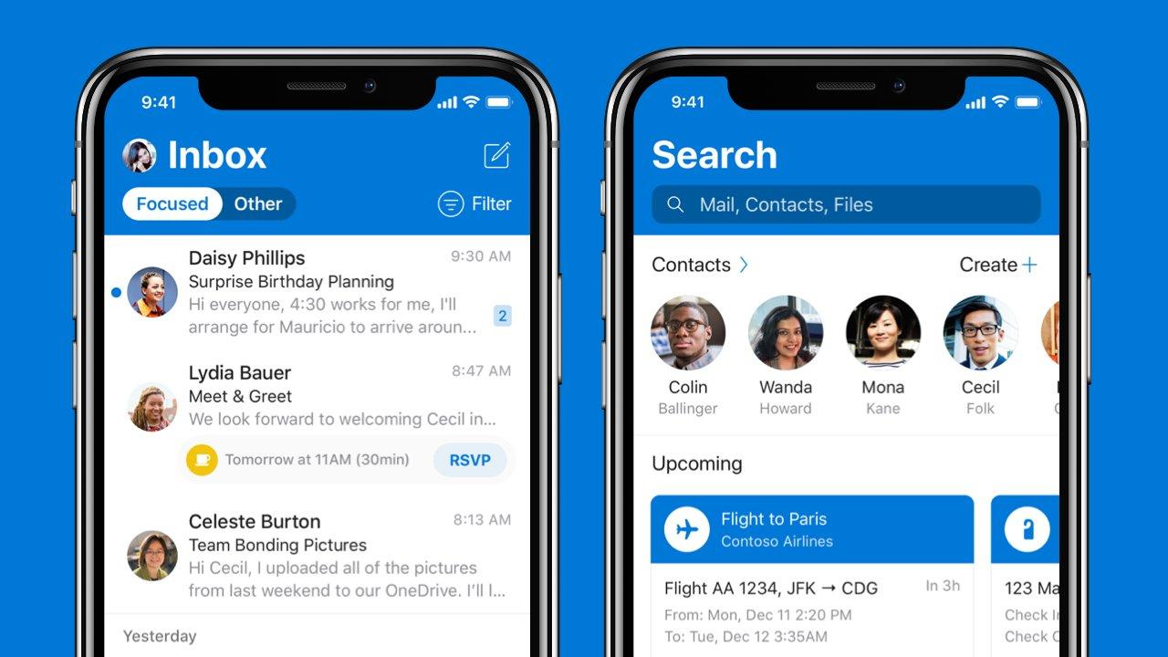 iOS için Outlook