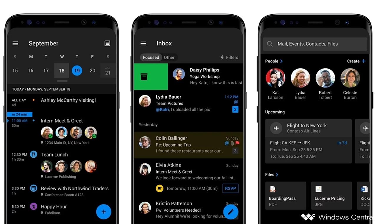 Android için Outlook