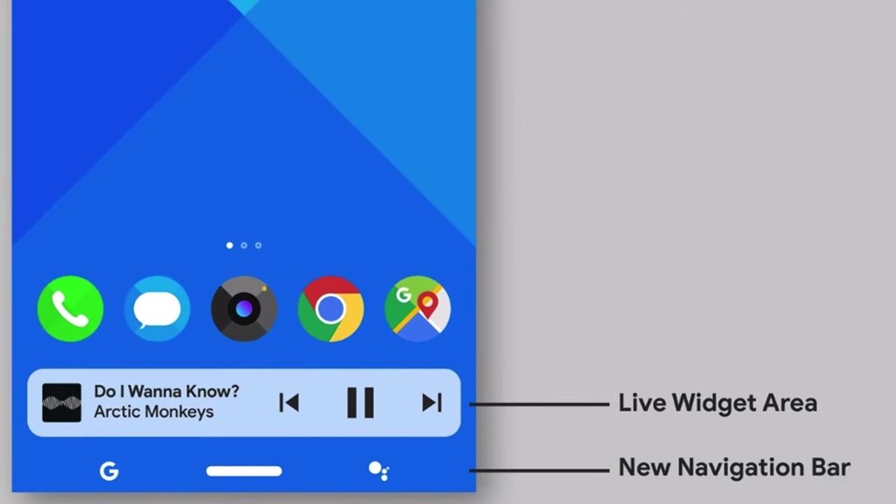 Android R görüntüleri