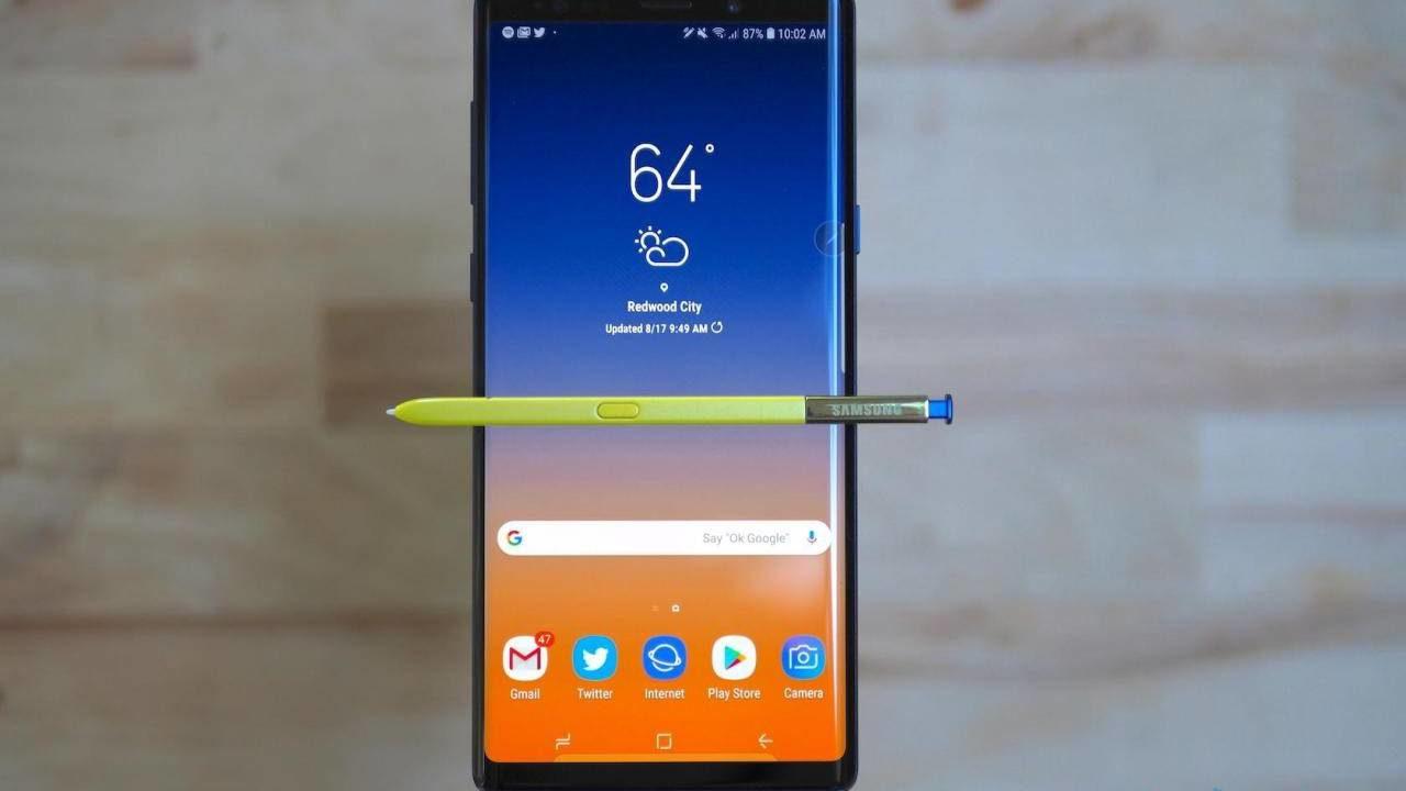 Galaxy Note 10 lansman tarihi