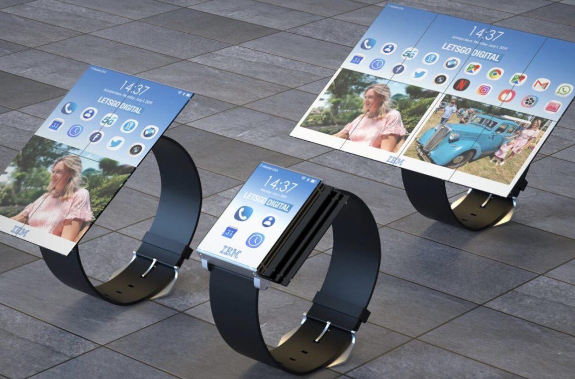 ibm tablete dönüşen saat patent 2