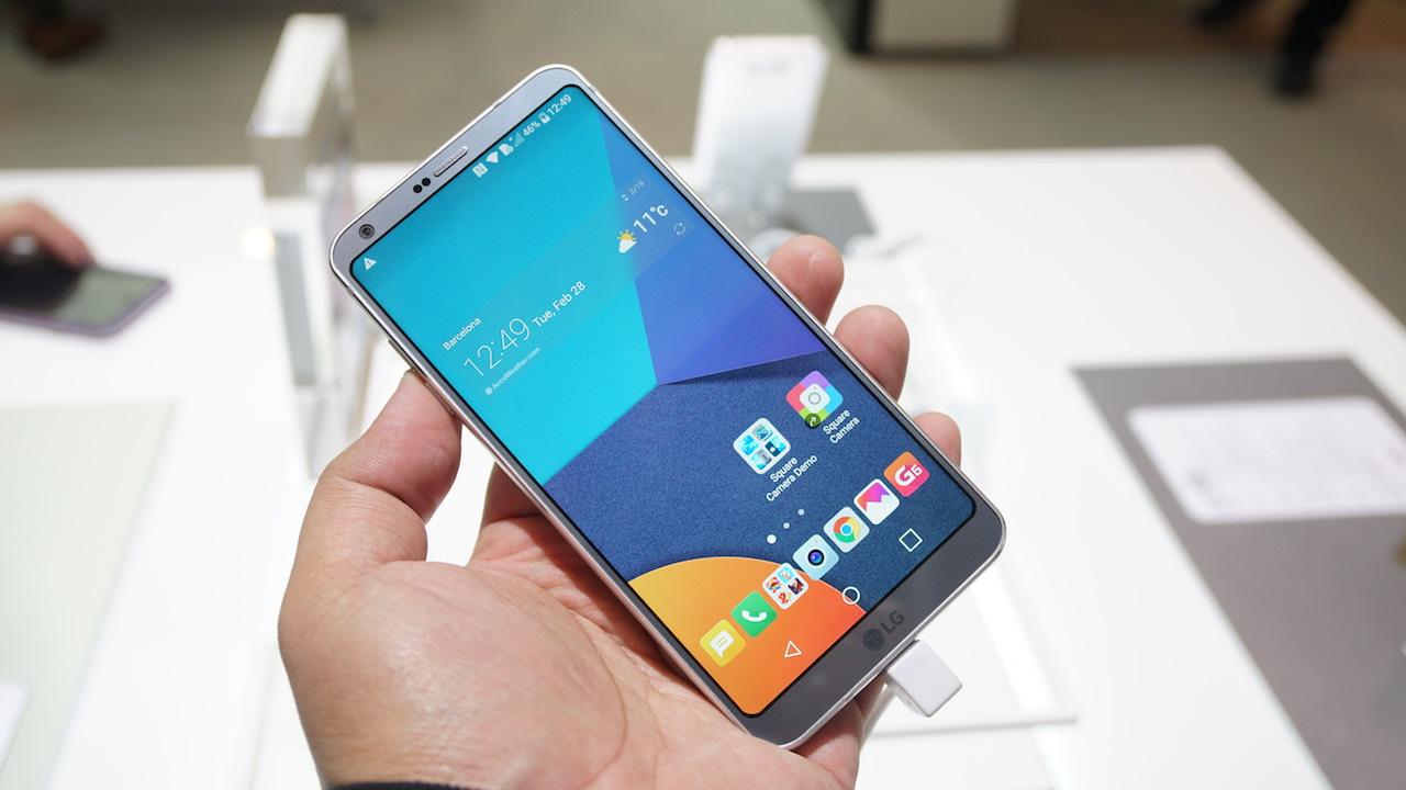 LG G6 Android Pie güncellemesi
