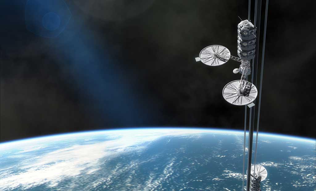 Uzay asansörü henüz yapılamıyor olsa da, mümkün!