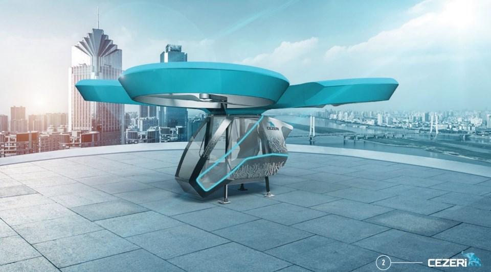 yerli uçan otomobil ilk görüntüleri