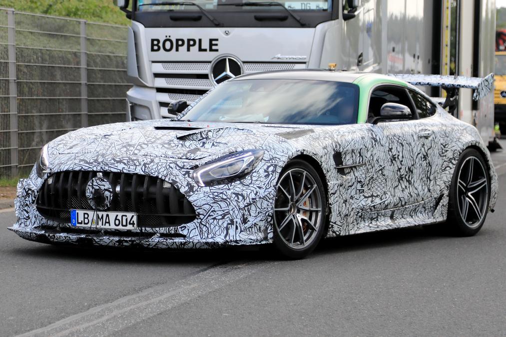 2020 Mercedes AMG GT R yeni amg gt r 2