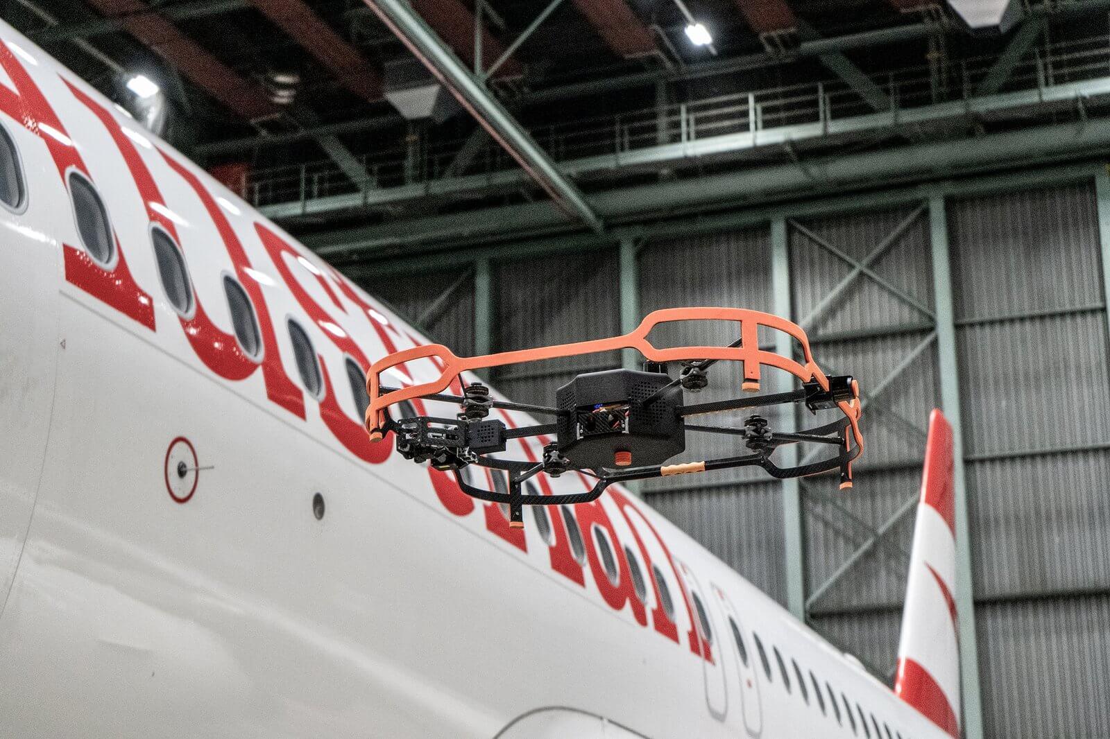 Avusturya Hava Yolları uçak kontrollerini otonom drone ile gerçekleştirecek