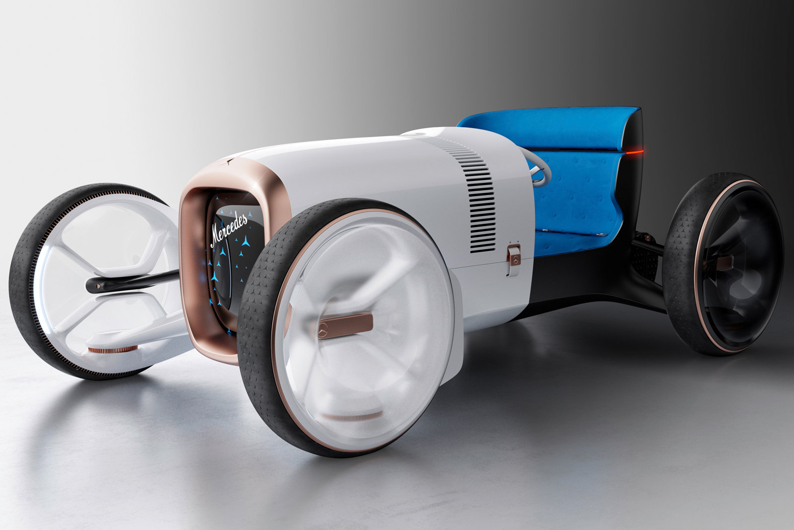 Mercedes-Benz, Vision Mercedes Simplex adını verdiği konsept aracını tanıttı