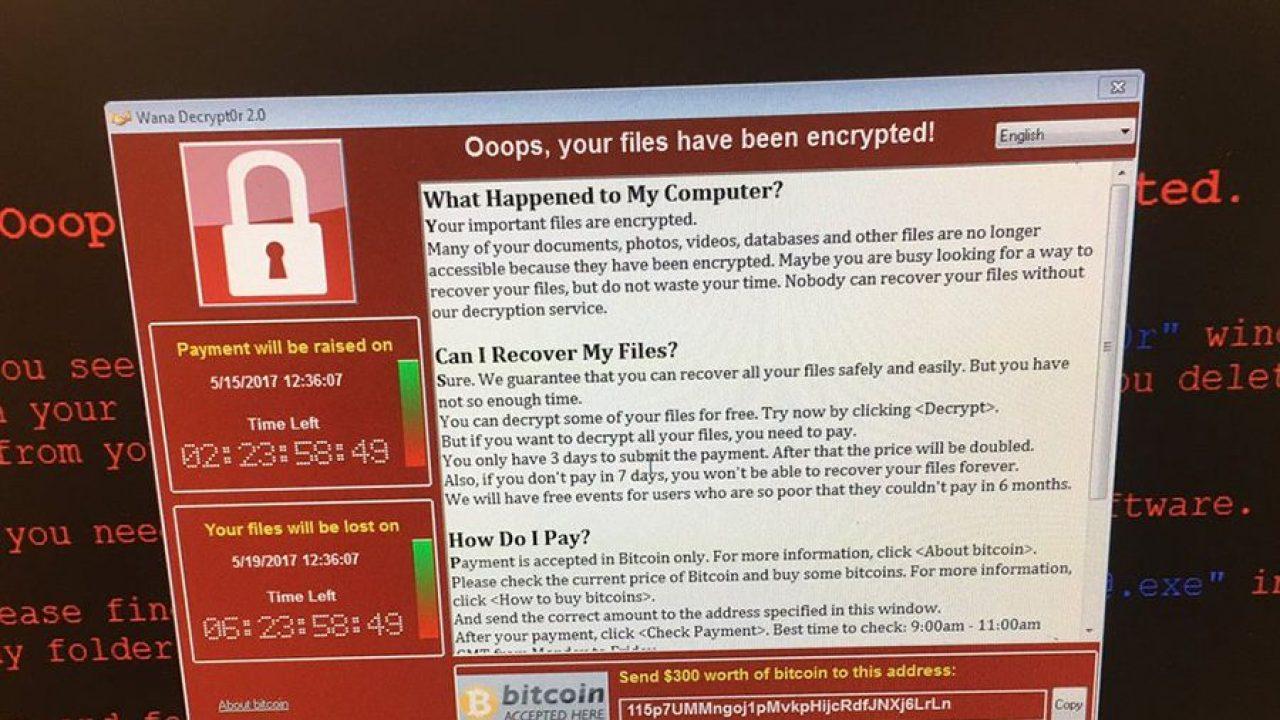 fidye yazılımı virüsü