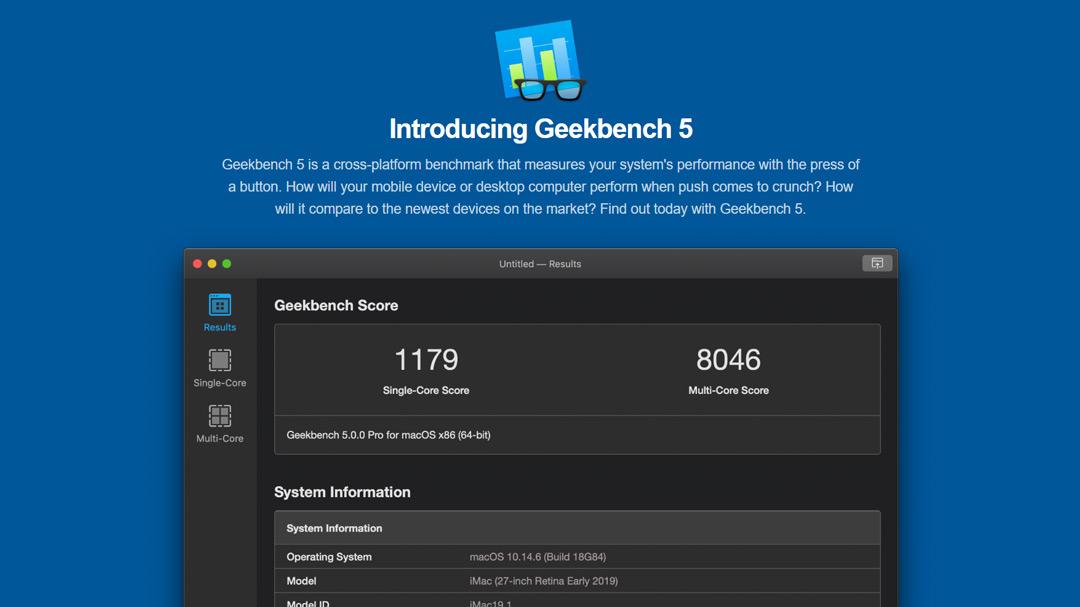 geekbench 5 Geekbench Bilgisayar Performans Test Programını İndir
