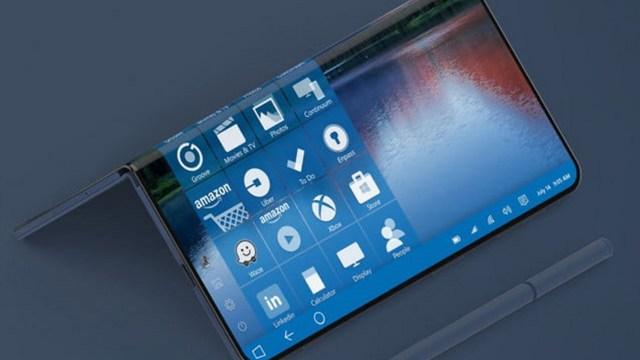 Microsoft yeni katlanabilir Surface üzerinde çalışıyor