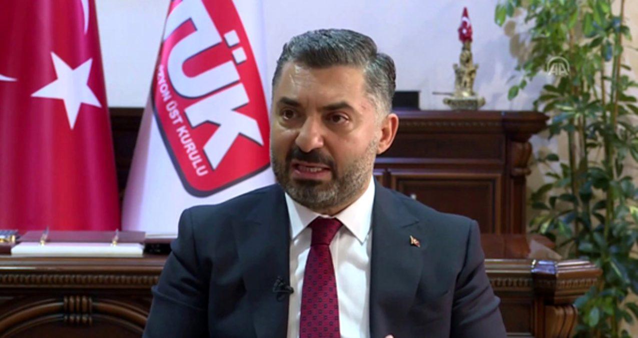 RTÜK Başkanı'ndan Netflix için açıklama