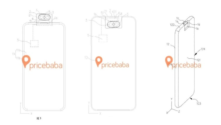 Zenfone 6 benzeri dönebilen yeni Oppo kamera patenti! - ShiftDelete.Net (1)