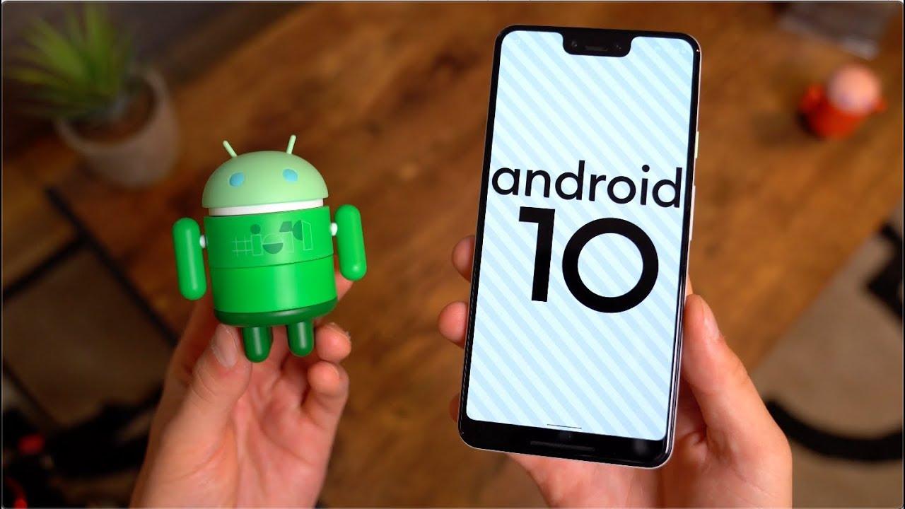 Android 10 hareketle gezinme