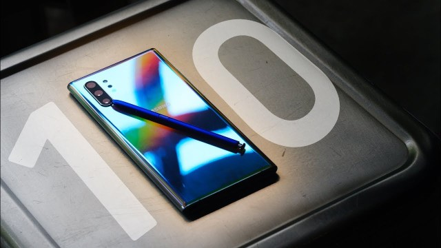 Samsung Galaxy Note 10 serisi