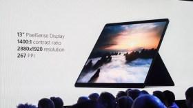 Microsoft SQ1'li Surface Pro X sahnede