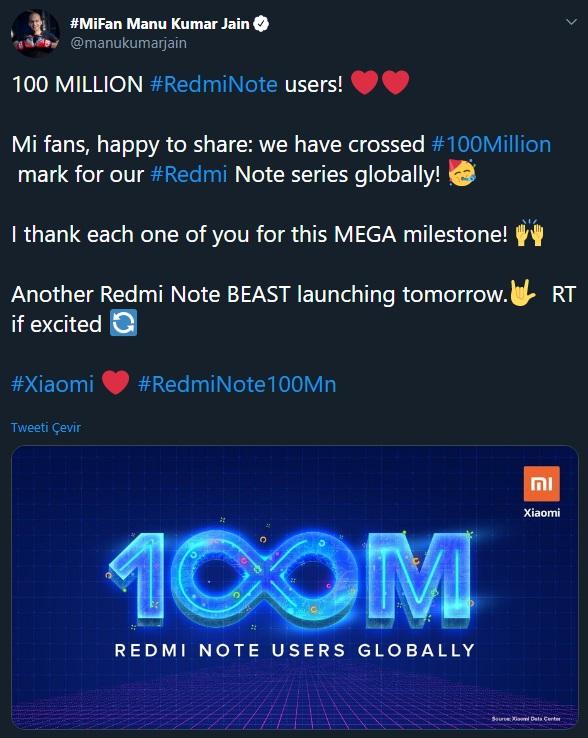 Xiaomi Redmi Note serisi - 1