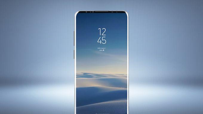 Samsung ön kamera ekran altında olacak iddiası ile göndemde
