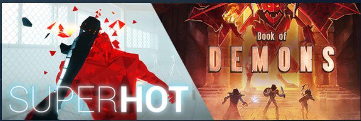 Steam hafta sonu indirimleri - Book of Demons ve SUPERHOT