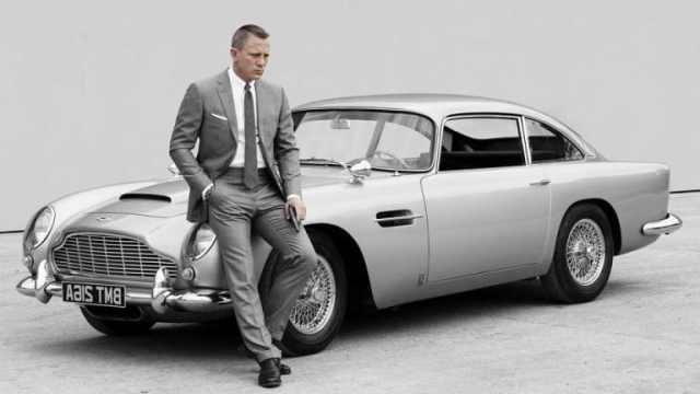 James Bond'un yeni aracı
