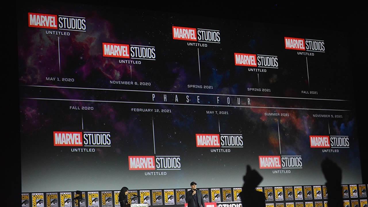 Marvel beş gizemli filmle geliyor
