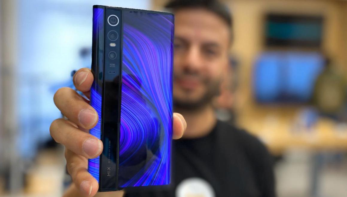 Xiaomi Mi Mix Alpha ön inceleme videosu