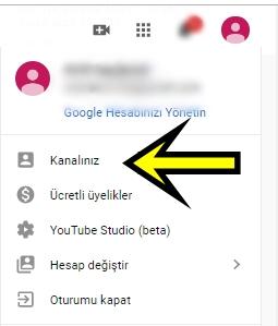 youtube video silme işlemi