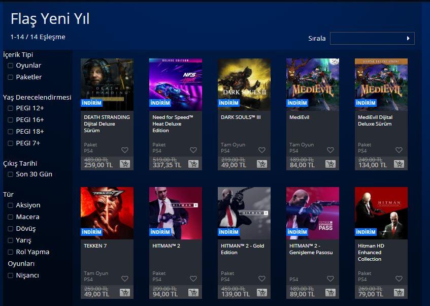 PlayStation Flaş Aralık