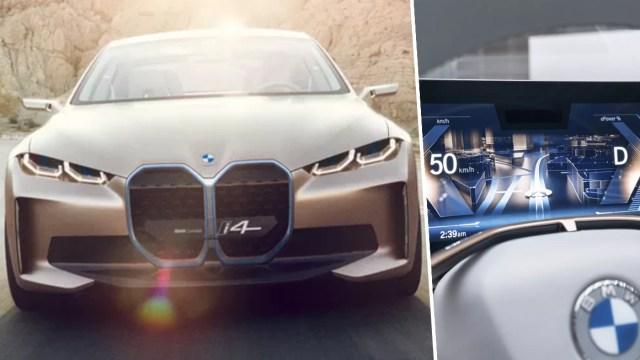 Sıra dışı tasarım: 2020 BMW Concept i4