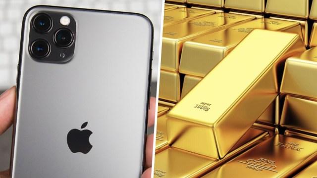 iPhone üretimi için ne kadar altın kullanılıyor? - ShiftDelete.Net