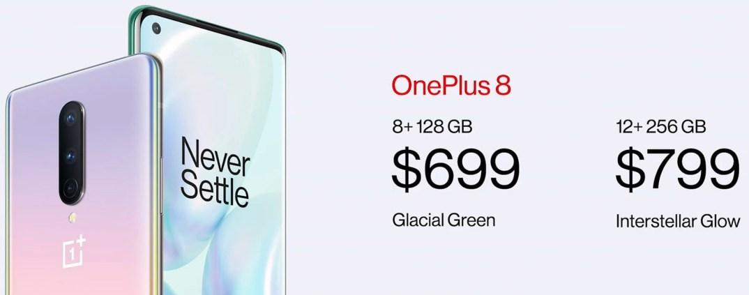 oneplus 8 fiyatı