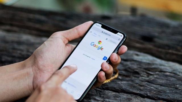 Google Arama karanlık mod